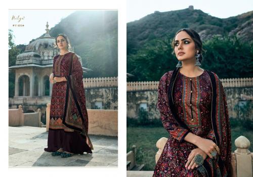 LT Fabrics Nitya Velvet 405 Price - 1660