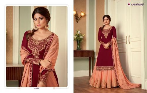 Aashirwad Creation Saara 8414 Price - 2895
