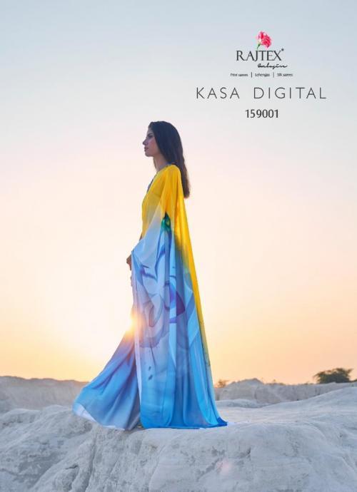 Rajtex Saree Kasa Digital 159001-159009 Series