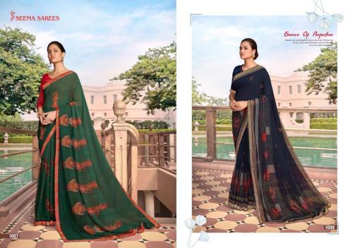 Seema Saree Soch 1007-1008 Price - 475