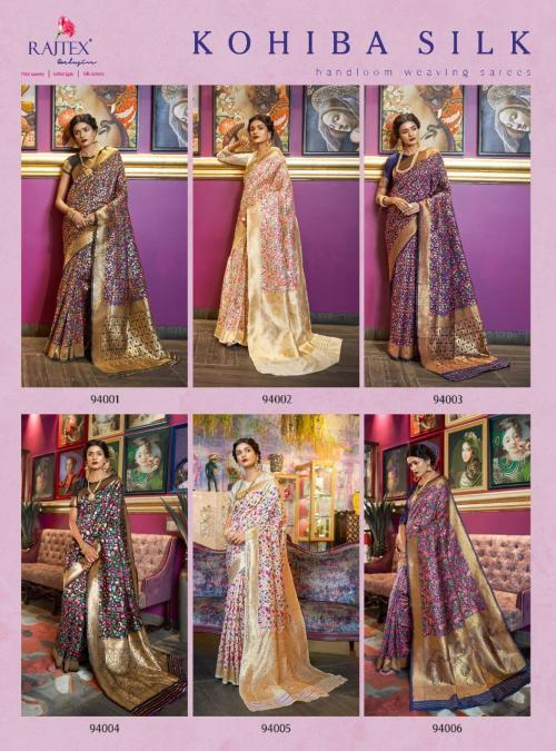 Rajtex Kohiba Silk 94001-94006 Price - 11970