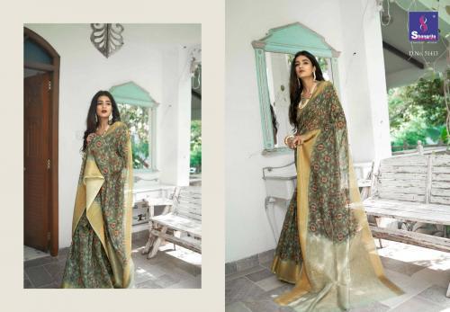 Shangrila Saree Trisha Digtal Linen 51413 Price - 1215