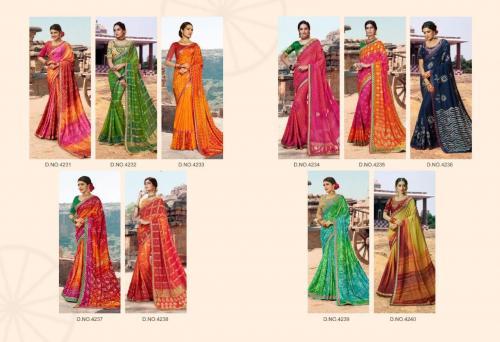 Kessi Fabrics Bandhej 4231-4240 Price - 9990