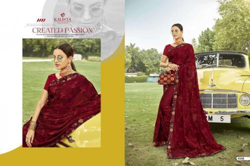 Kalista Fashions Hot Star 4348-4355 Series