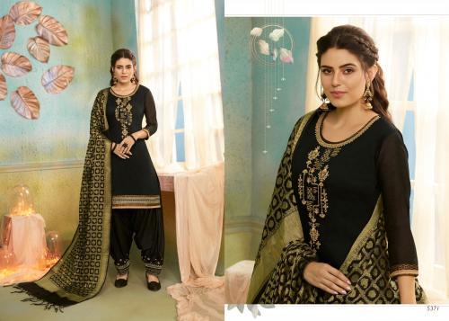 Kessi Fabrics Silk Patiyala Vol-2 5371-5380 Series