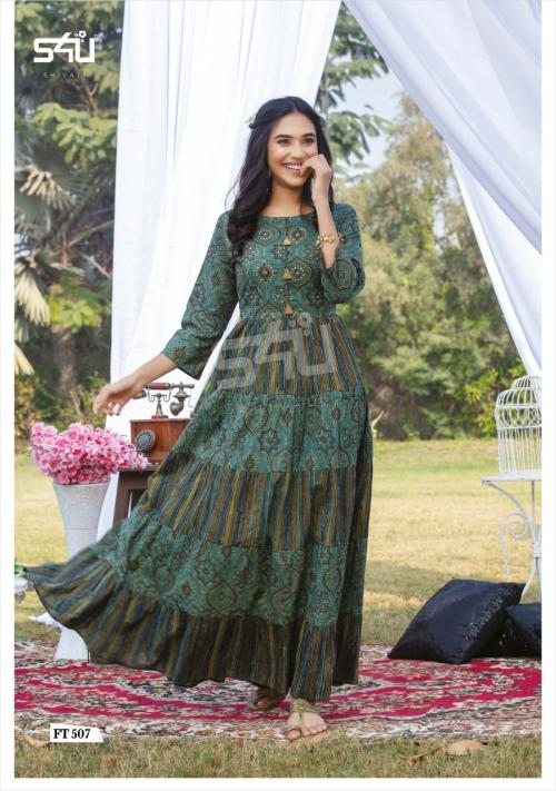 S4U Shivali Flairy Tales 507 Price - 875
