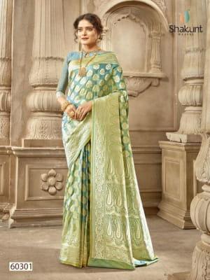 Shakunt Saree Uttara 60301-60304 Series