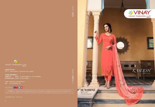 Vinay Fashion Kaseesh Sunshine Hit List 11047 Price - Inquiry On Watsapp Number For Price