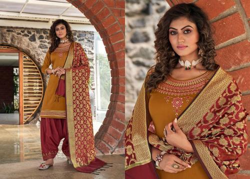 Kessi Fabrics Silk By Patiyala 4002 Price - 949