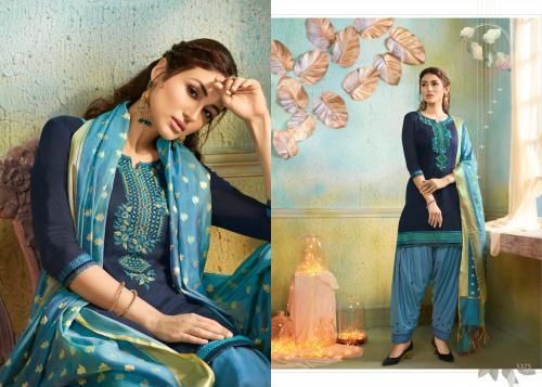Kessi Fabrics Silk Patiyala 5375 Price - 999