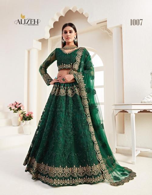 Alizeh Bridal Heritage 1007 Price - 6150