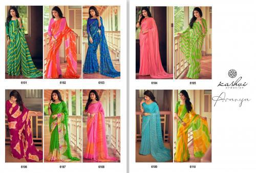 Kashvi Creation Aranya 6101-6110 Price - 7950