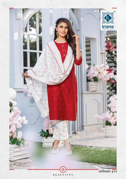 Kiana Fashion Aitbaar Vol-4 401-408 Series