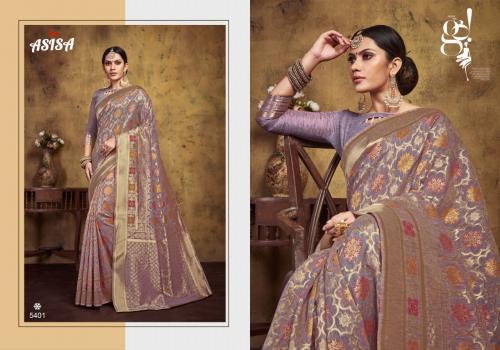 Asisa Saree Omisha wholesale saree catalog