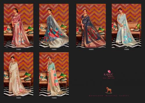 Rajtex Saree Kandira 116001-116006 Price - 9360