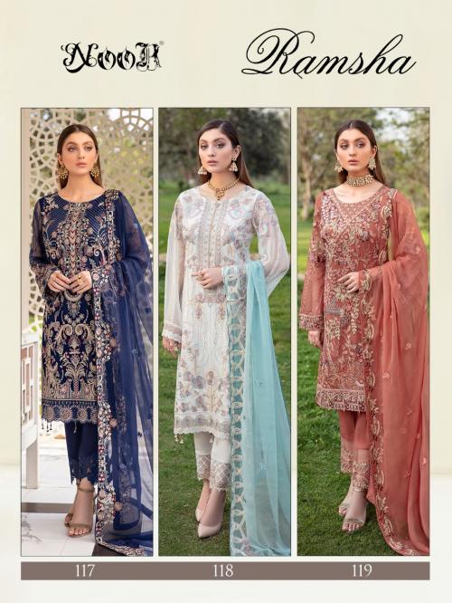 Noor Ramsha 117-119 Price - 3747