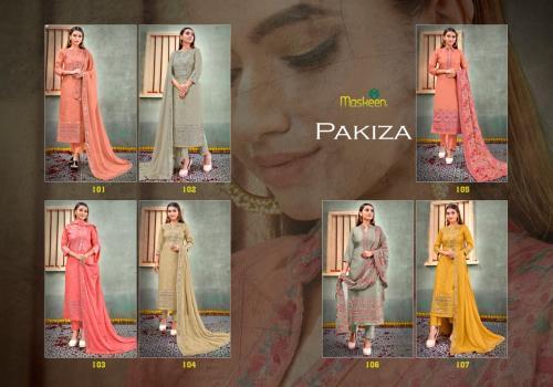 Maisha Maskeen Pakiza 101-107 Price - 17143