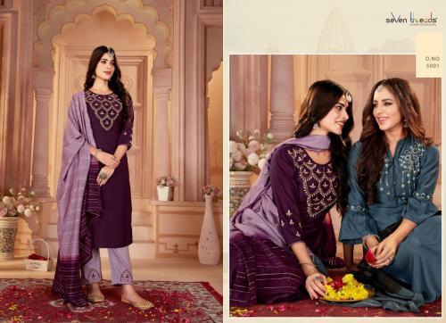 Seven Threads Noor 5001-5007 Series