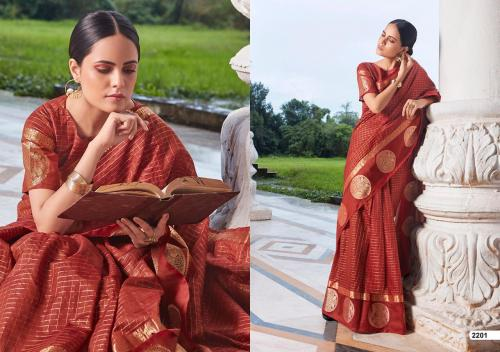 LT Fabrics Saree Aroma 2201