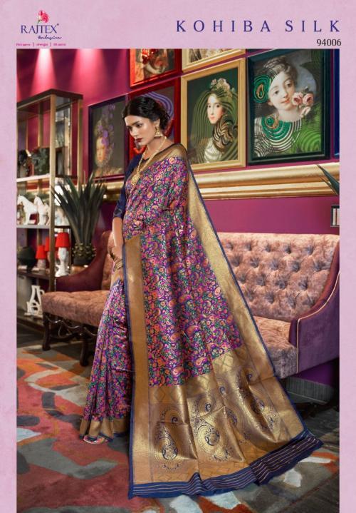 Rajtex Kohiba Silk 94006 Price - 2200
