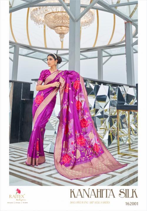 Rajtex Saree Kanahita Silk 162001 Price - 1560