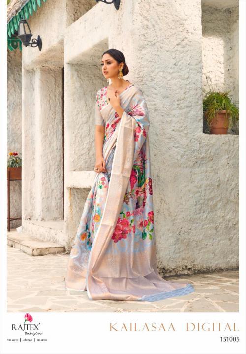 Rajtex Saree Kailasaa Digital 151005 Price - 1460
