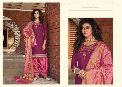 Kessi Fabrics Silk By Patiyala 4005 Price - 949