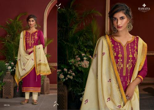 Kessi Fabrics Ramaiya Palkhi 10136 Price - 899