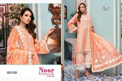 Shree Fab Noor By Saadia Asad 1616 Price - 1249
