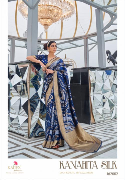 Rajtex Saree Kanahita Silk 162002 Price - 1560