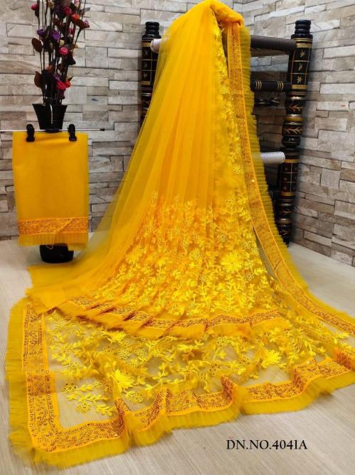 DF Net Saree 4011 Colors