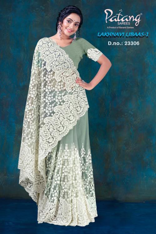 Patang Sarees Lakhnavi Libaas Vol-1 23306-23309 Series