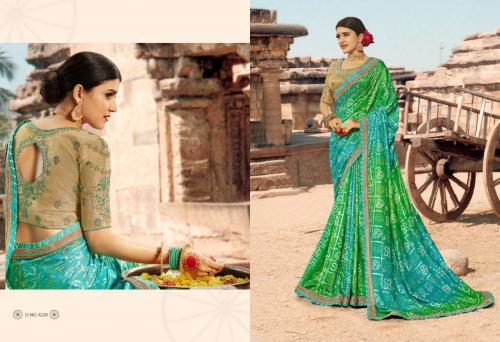 Kessi Fabrics Bandhej 4239 Price - 1199