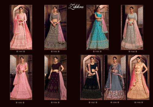 Zikkra Lehenga 11001-11009 Price - 47525