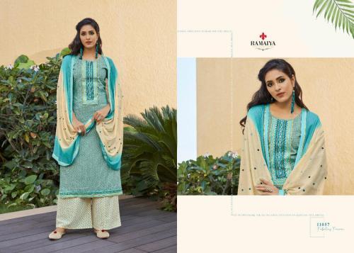 Kessi Fabrics Ramaiya Rose Gold 11057 Price - 699