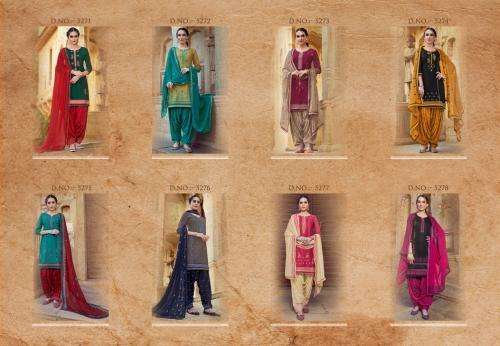 Kessi Fabrics Patiala House 5271-5278 Price - 6392