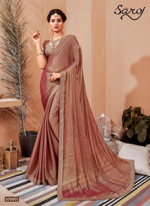 Saroj Saree Monali 105001-105008 Series