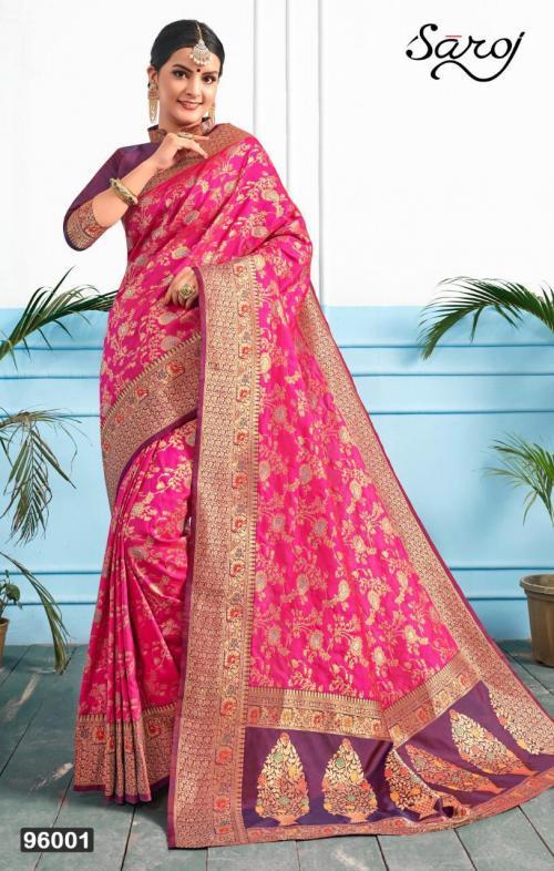 Saroj Saree Solah Shringar 96001-96004 Series