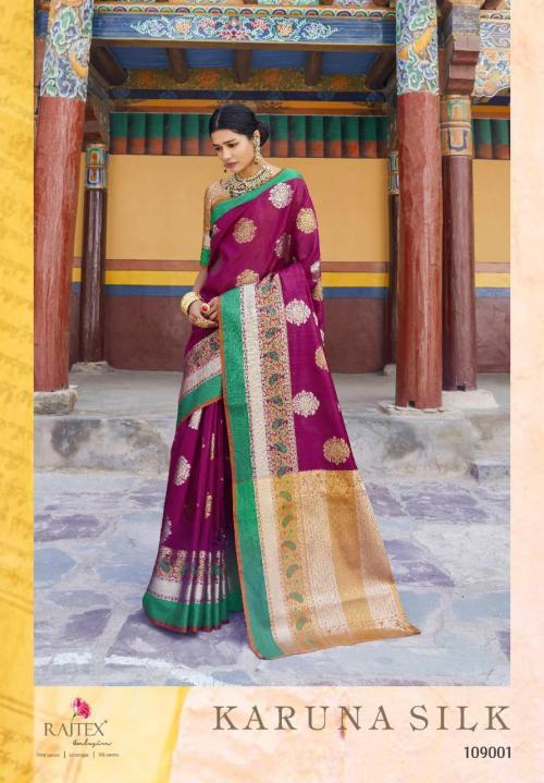 Rajtex Karuna Silk 109001 Price - 1300