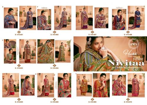 Harshit Fashion Nivita 516-001-516-010 Price - 5400