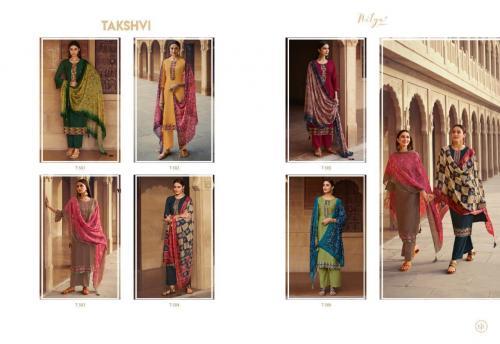 Lt Fabrics Takshvi 501-506 Price - 9540