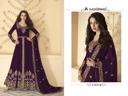 Aashirwad Creation Gulkand Pakhi 7217 D Master Colors Price - 1700