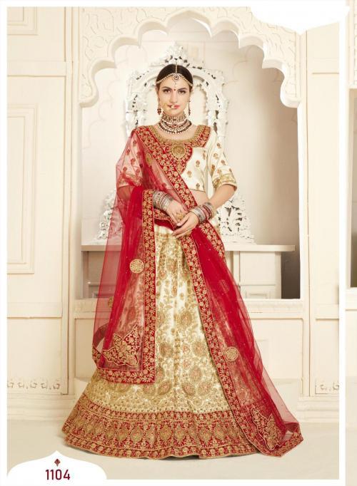 Shehnai Lehenga Bridal Heritage 1104 Price - 6595