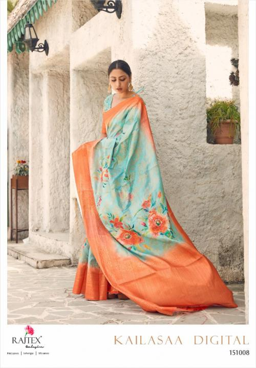 Rajtex Saree Kailasaa Digital 151008 Price - 1460