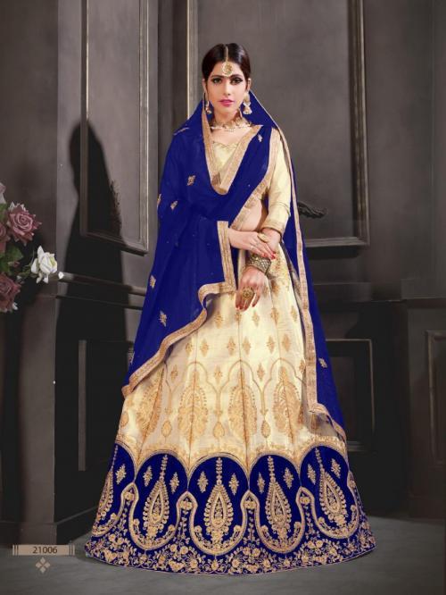 Natraj Lehenga Sangeetha 21006 Price - 1500