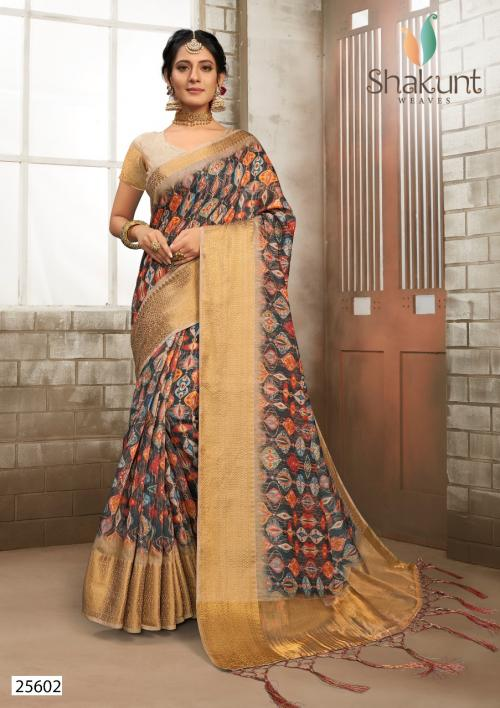 Shakunt Saree Venus 25602 Price - 1421