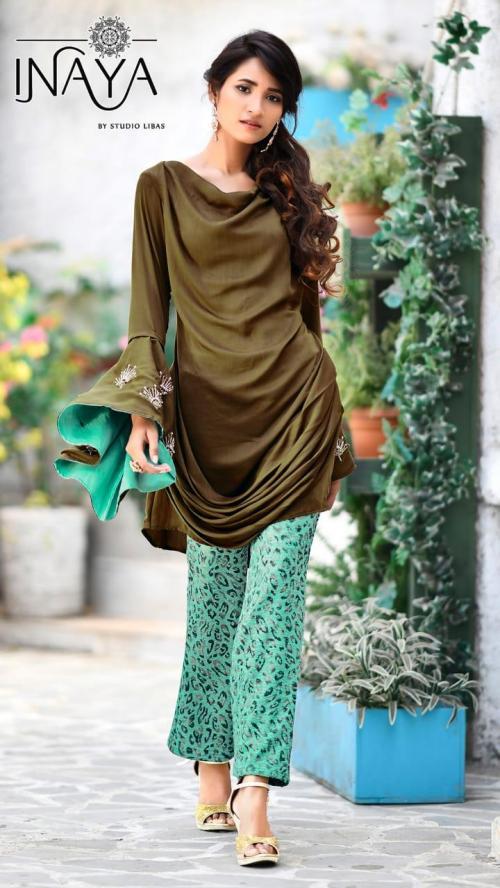 Studio Libas Inaya Luxury Pret Eid Collection 22 Tunic Pant
