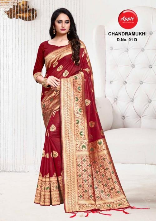 Apple Saree Chandramukhi 01-D  Price - 895