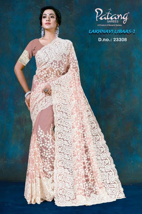 Patang Sarees Lakhnavi Libaas 23308 Price - 2395