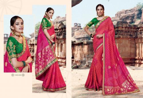 Kessi Fabrics Bandhej 4234 Price - 1199